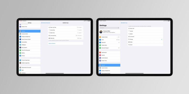 scorciatoie tastiere ipad