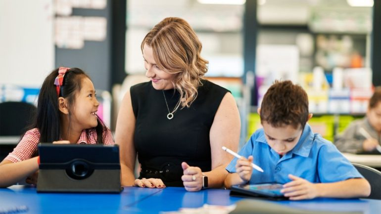 ipad scuola australia