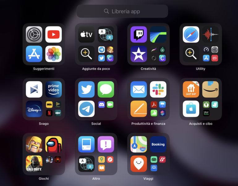 libreria app ipados 15